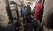 Air France uçağında yolcu hayatını kaybetti