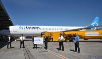 Air Transat, AerCap'ten kiralanan A321LR'yi teslim aldı