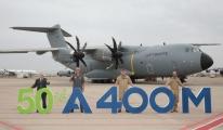 Airbus 50'inci A400 M uçağını teslim etti