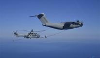 Airbus A400M, helikopter ile ilk kez havada kuru temas gerçekleştirdi