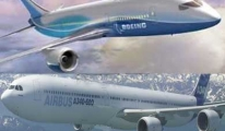 Boeing'e 610milyon dolarlık iki dava