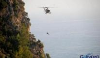 Alanya Kalesi'nde ceseti paraşütçü gördü