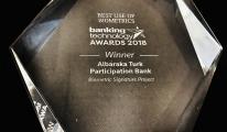 Albaraka Türk, Biyometrik İmza'sına ödül!