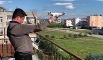 video Alışverişini drone ile yapıyor