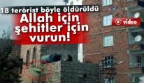Polis Telsizinden 'Allah için, Şehitler İçin Vurun!'