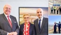 Alman Büyükelçi, 3. Havalimanı'nı ziyaret etti