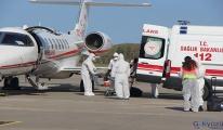Ambulans uçakla koronalı hasta taşımak yasaklandı