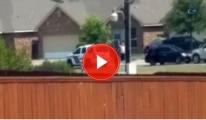 Amerikan Polisi Teslim Olmak İçin Ellerini Kaldıran Şahsı Vurdu