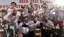 Ampute Futbol Süper Ligi'nde şampiyon Etimesgut Belediyesi