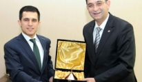 Anadolu Jet Başkanı Doğan'dan  GSO'ya ziyaret