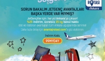 AnadoluJet Avantaj Rotası, Ekim'de Ankara'da...