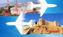AnadoluJet, Bursa ile Gaziantep'i buluşturuyor.