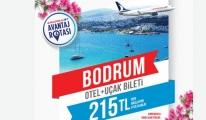 AnadoluJet'ten Bodrum'a özel avantaj fırsatı
