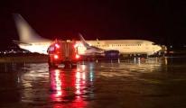 Anadolujet Uçağında yangın paniği