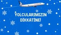 Anadolujet'ten Ankara uçuşlarına kar iptali!