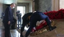 Anıtkabir'de Cumhuriyet coşkusu(video)