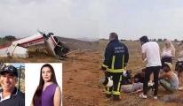 Antalya'da eğitim uçağı düştü: 2 ölü, 1 yaralı