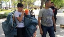 Antalya'da falezler üzerinden yamaç paraşütünü ceza
