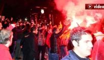 Antalya'da Galatasaray İzdihamı video
