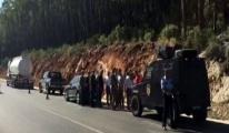 Antalya'da Roketli Saldırı