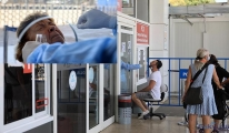 Antalya'da Yurt dışı yolcusuna koronavirüs testi yapıldı