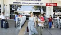 Antalya Havalimanında Bayram Yoğunluğu video