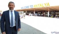 Antalya'ya bugün 20 bin Rus turist gelecek(video)