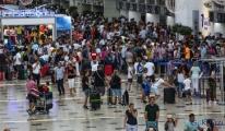 Antalya'ya havadan turist yağıyor