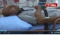 Havalimanı'na yıldırım düştü İki İşçi yaralandı video