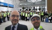 Arap gazeteciler 3. Havalimanında! video