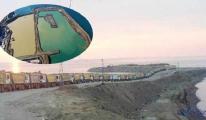Artvin Havalimanı'nda denize 20,5 milyon ton taş döküldü