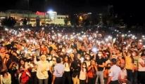 Şanlıurfa'da sosyal mesafesiz konser #video