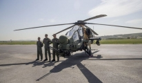 ATAK helikopterleri Jandarma'ya teslim edildi