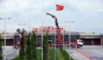 Atatürk Havalimanı hastanesinde tabela asıldı