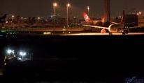Atatürk Havalimanı'nda çalışmalar gece de devam etti