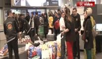 Atatürk Havalimanı'nda kaçak kürk operasyonu video