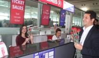 Atatürk Havalimanı'nda Kadınlar Günü Sürprizi