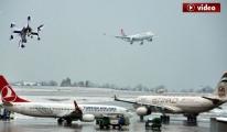 Atatürk Havalimanı'nda korku dolu dakikalar! video