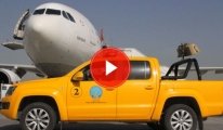 Atatürk Havalimanı'nda Kuş Timi Görev Başında