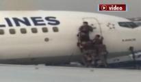 Atatürk Havalimanı'nda nefes kesen operasyon!video
