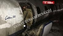 Atatürk Havalimanı'nda Özel Jet Yanıyor!! video