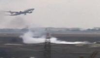 Atatürk Havalimanı'nda yükselen duman!