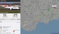 Atatürk Havalimanı'ndan havalanan kargo uçağı