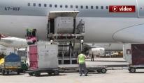 Atatürk Havalimanı'ndan Katar'a Gıda Sevkıyatı video