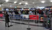 Atatürk Havalimanı oy yoğunluğu!
