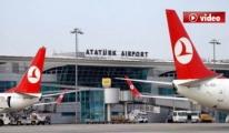 Atatürk Havalimanı uçuşa açıldı