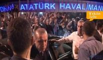 Atatürk  Havalimanında halkla buluşacak
