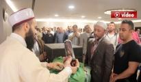 Atatürk Havalimanı'nda Sakal-ı Şerif Heyecanı video