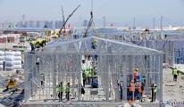 Atatürk Havalimanı'ndaki hastane inşaatı devam ediyor