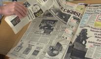 Atatürk Kitaplığı'ndaki tarihi gazete nüshalarına jiletli tahribat